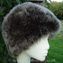 Brown Brisa Toscana Shearling Hat